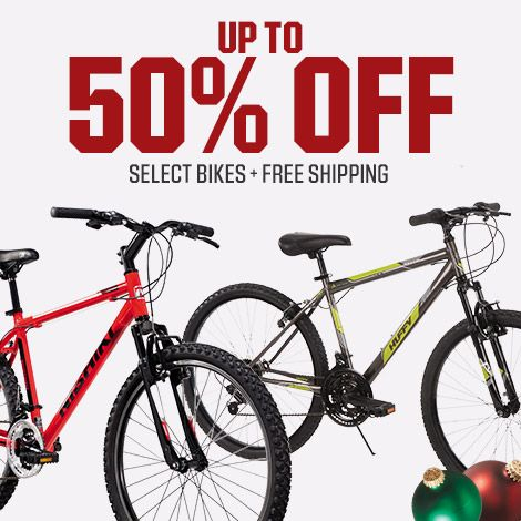 Shop Up To 50% Off Select Bikes