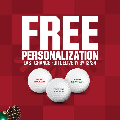 Shop Free Golf Ball Personalization