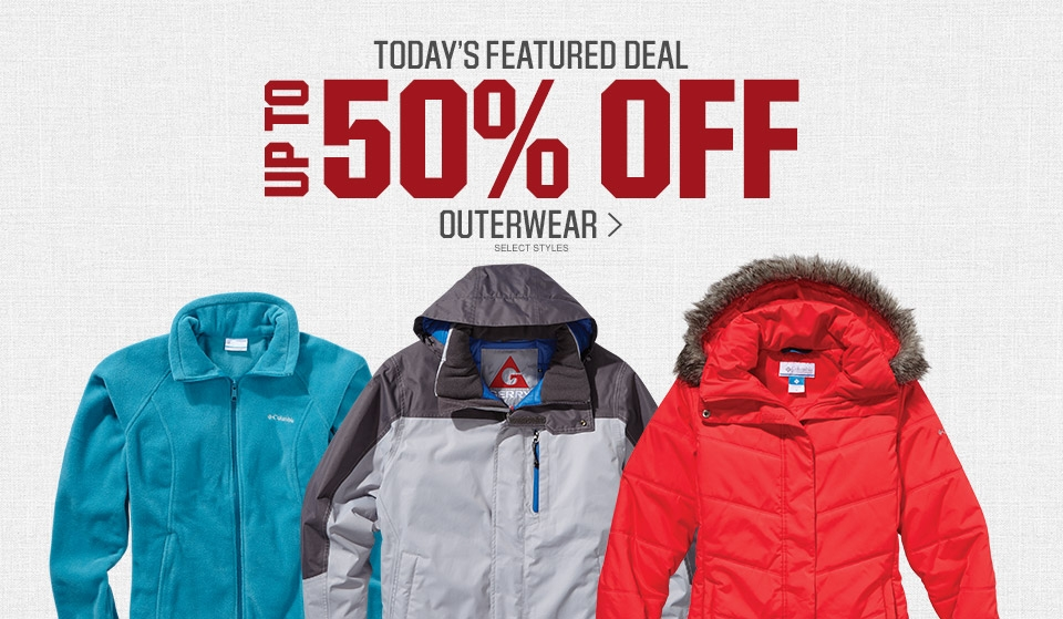 Shop Up To 50% Off Select Outerwear
