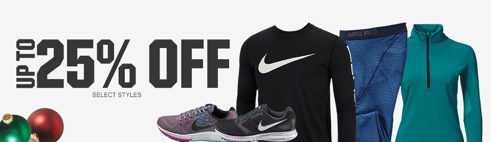 Shop Up To 25% Off Nike