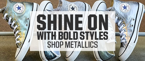 Shop Converse Metallics