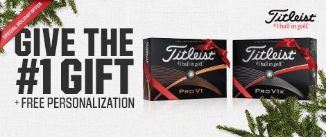 Free Titleist Golf Ball Personalization