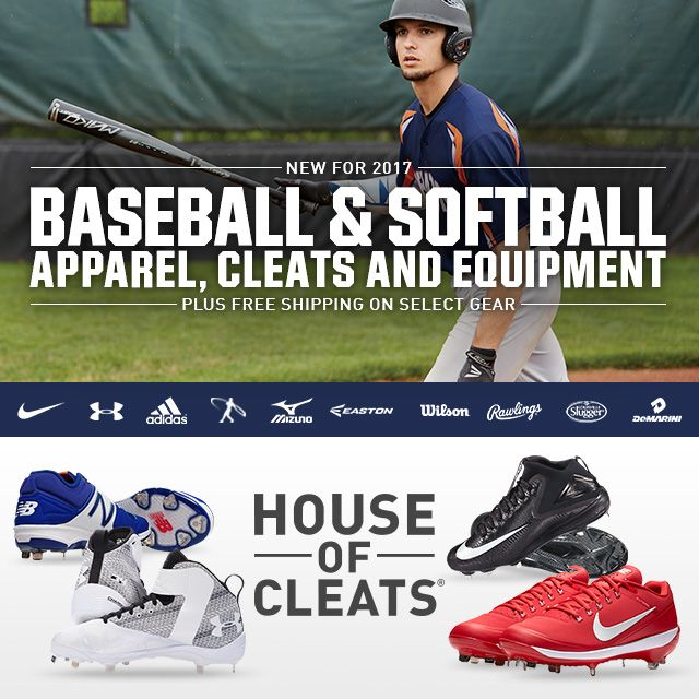 Shop Baseball Gear