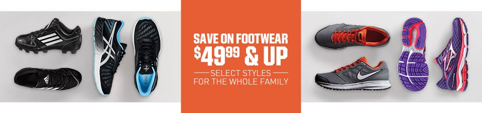 Save On Footwear $49.99 And Up
