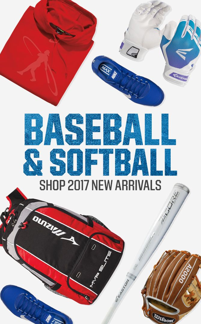 Shop Baseball / Softball New Arrivals