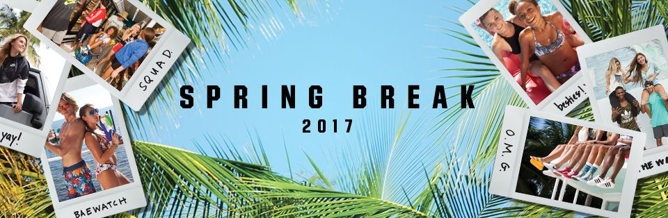 Shop Spring Break 2017