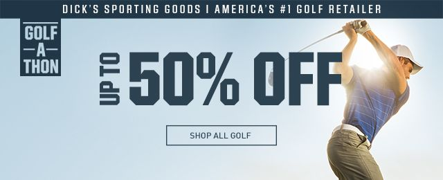Shop Up To 50% On Golf