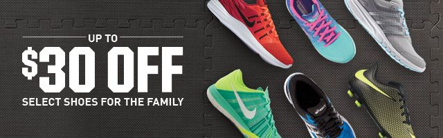 Shop Up To $30 Off Footwear