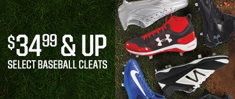 Save Big On Baseball Cleats