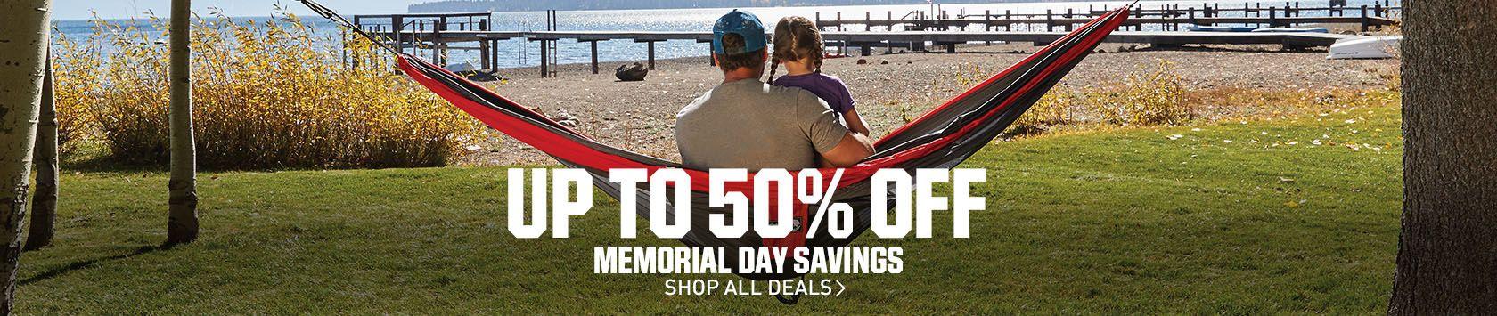Shop Memorial Day Savings