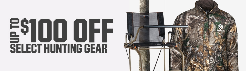 Shop $100 Off Select Hunting