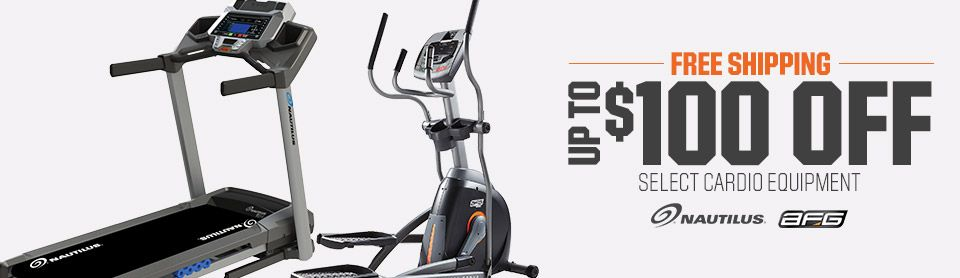 Free Shipping On Select Cardio Equipment