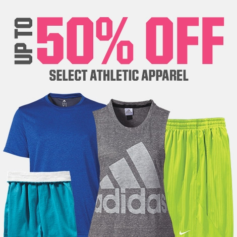 Shop 50% Off Athletic Apparel
