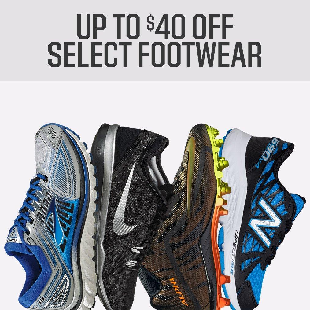 Shop 40% Off Select Footwear
