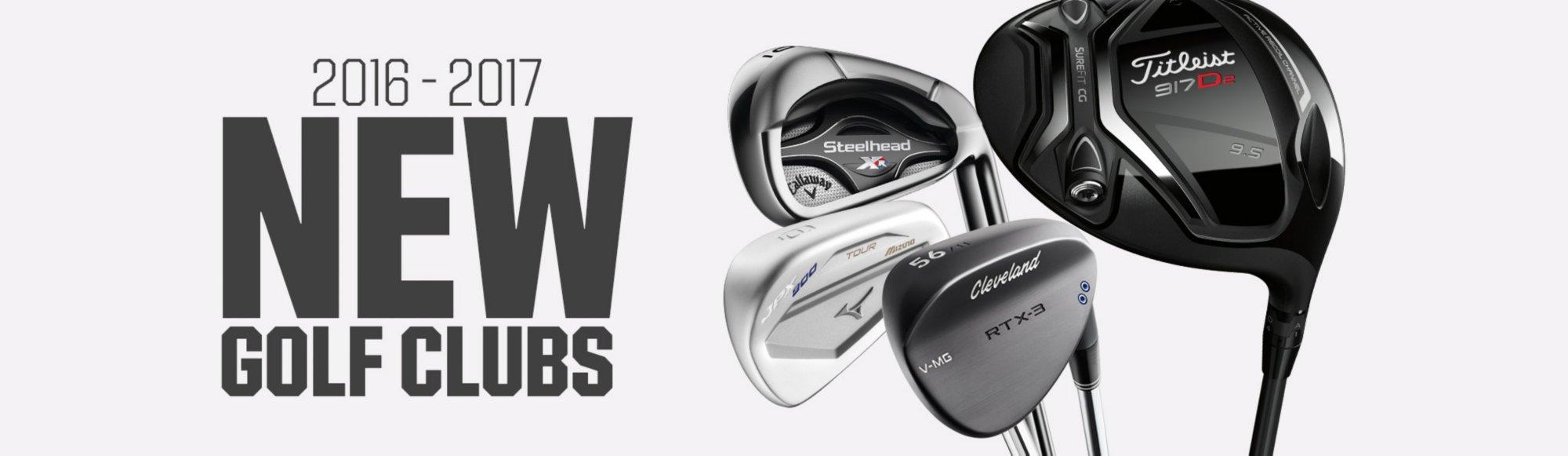 Shop New Golf Clubs