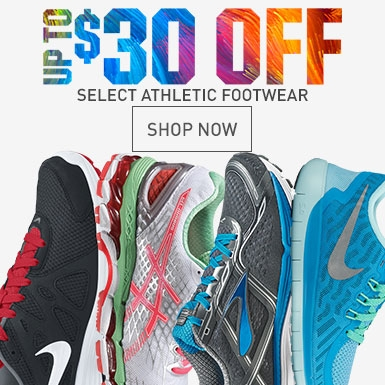 Shop $30 Off Select Footwear