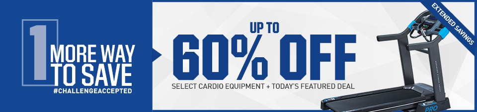 Shop Up To 60% Off Cardio Equipment
