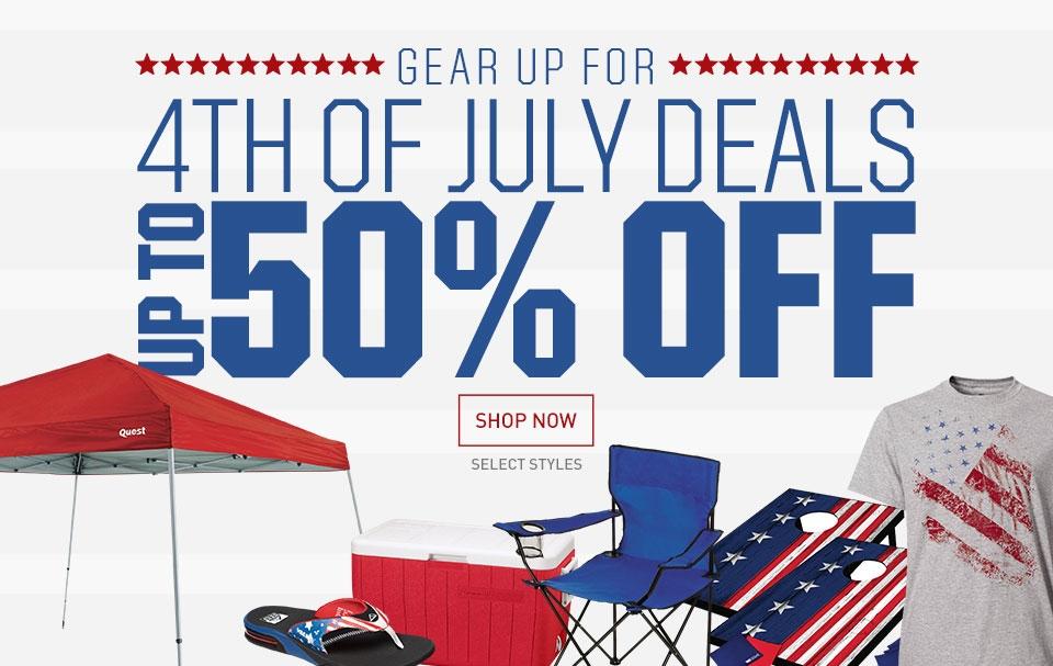 Shop 4th of July Deals