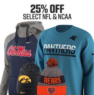 Shop NFL and NCAA