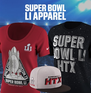 Shop NFL Superbowl Gear