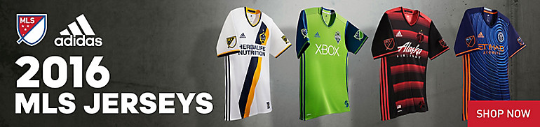 2016 MLS Jerseys
