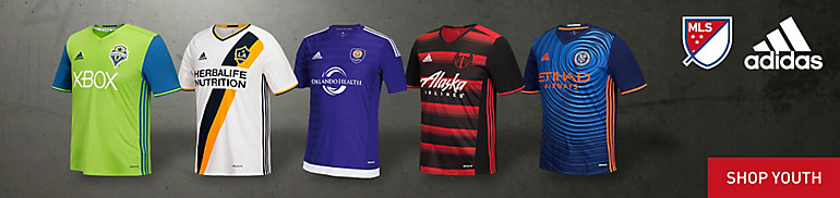MLS Youth Jerseys and Apparel
