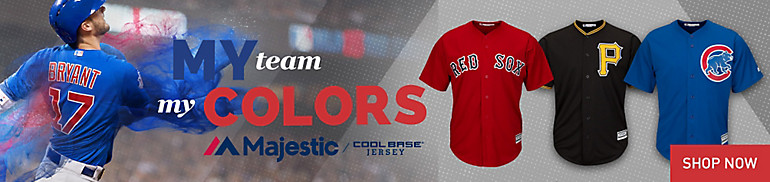 Majestic Cool Base Jerseys