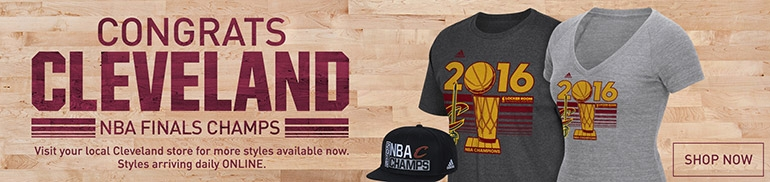 Congrats Cleveland