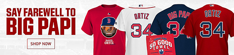 David Ortiz Jerseys and Gear