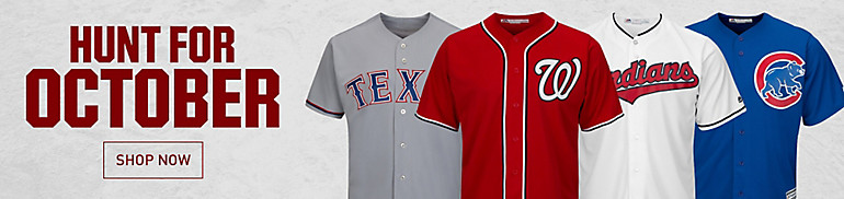 MLB Jerseys, Apparel and Gear