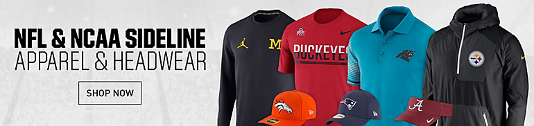 NFL and NCAA Sideline Gear
