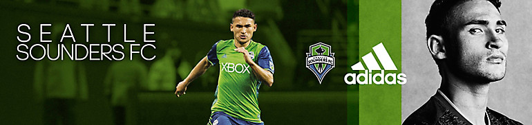 Shop Seattle Sounders Gear