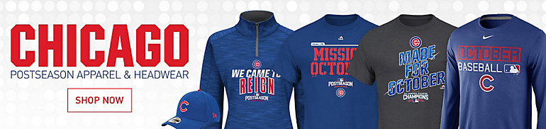 Chicago Cubs Apparel and Gear