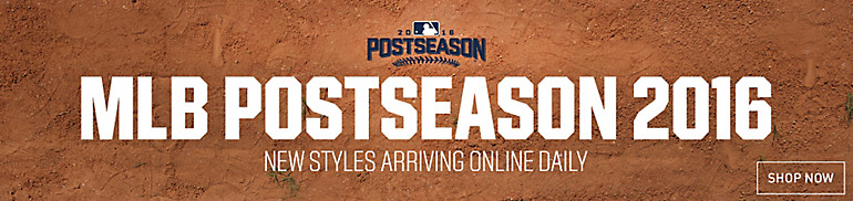 2016 MLB Playoff Apparel and Headwear