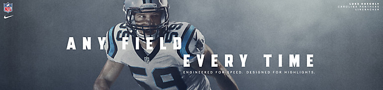 Carolina Panthers Nike Apparel and Gear