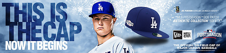 Dodgers Postseason Hats