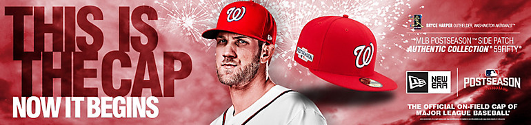 Nationals Postseason Hats