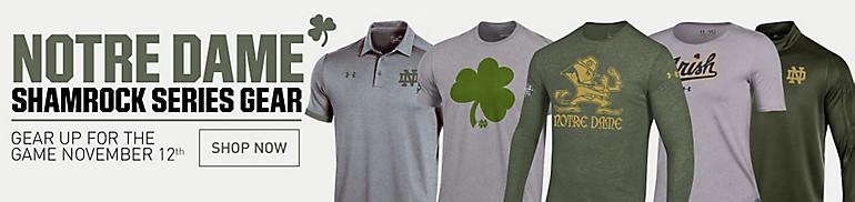 Notre Dame Shamrock Series Apparel