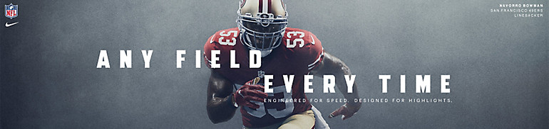 San Francisco 49ers Any Field Any Time
