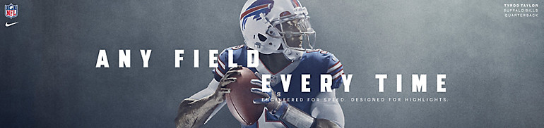 Buffalo Bills Any Field Any Time