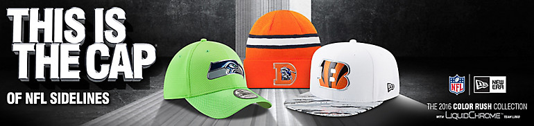 NFL Color Rush Hat Collection