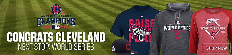 Cleveland Indians Apparel and Gear