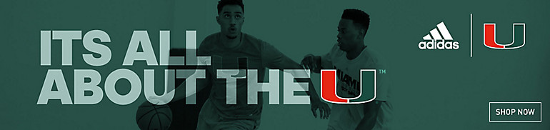 Shop Miami Hurricanes Basketball Gear