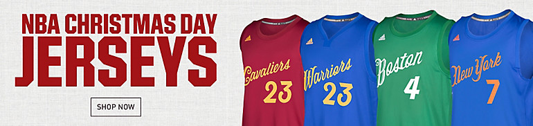 NBA Christmas Day Jerseys