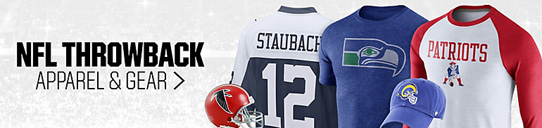 NFL Throwback Apparel and Gear