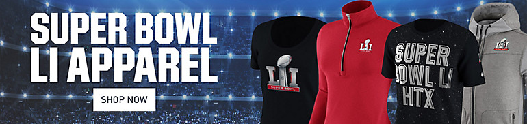 Shop Superbowl Gear