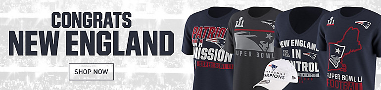 New England Patriots Apparel and Gear