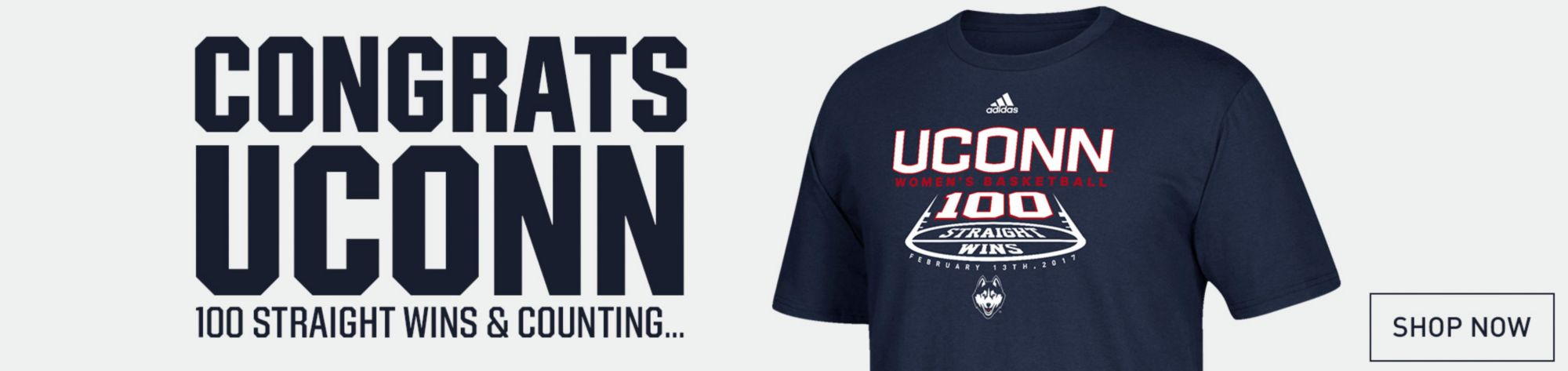 Congrats UConn - 100th Win