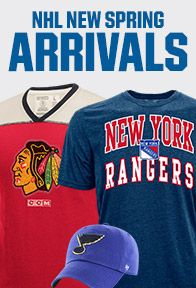 Shop Licensed NHL Gear