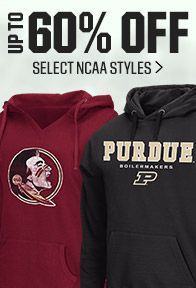 Save On Select NCAA Styles